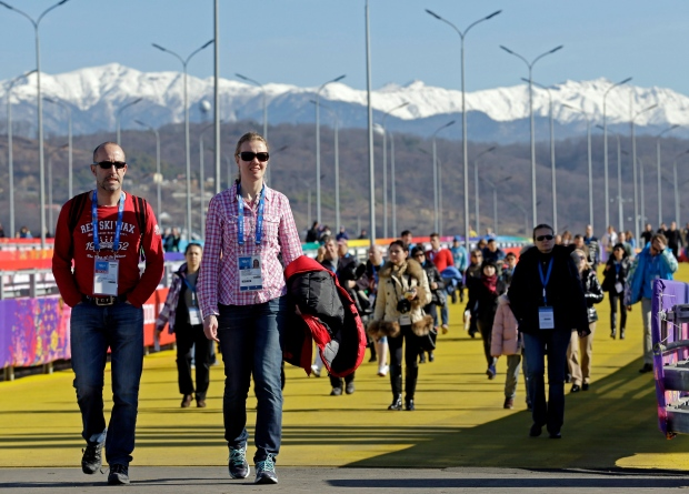 Sochi warm weather