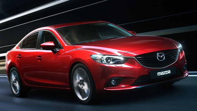 The Mazda 6 has been named the Canadian car of the year at the Canadian International Auto Show in Toronto.