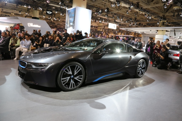 Bmw i8 Vancouver a Bmw i8 Production Car is