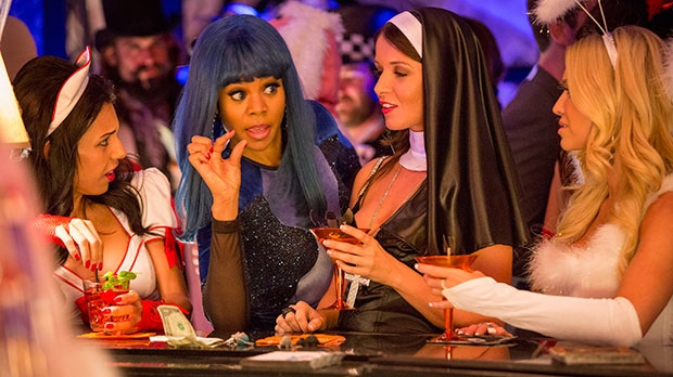 Regina Hall, second left, in a scene from Sony Pictures Canada's 'About Last Night'