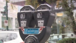 A City of Vancouver parking meter is seen in this undated CTV News file image.
