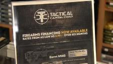 gun financing wanstalls