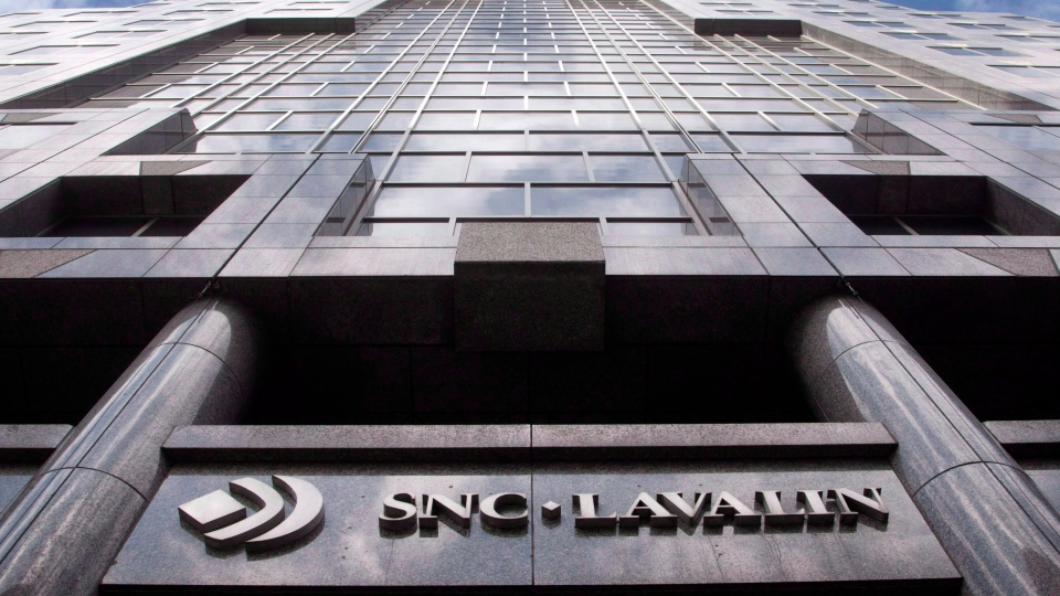 The headquarters of engineering giant SNC-Lavalin are seen in Montreal on March 26, 2012. (Ryan Remiorz / THE CANADIAN PRESS)