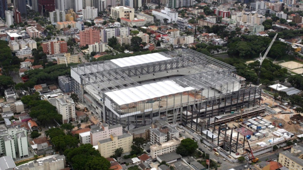 Arena da Baixada stadium in Curitiba, Brazil