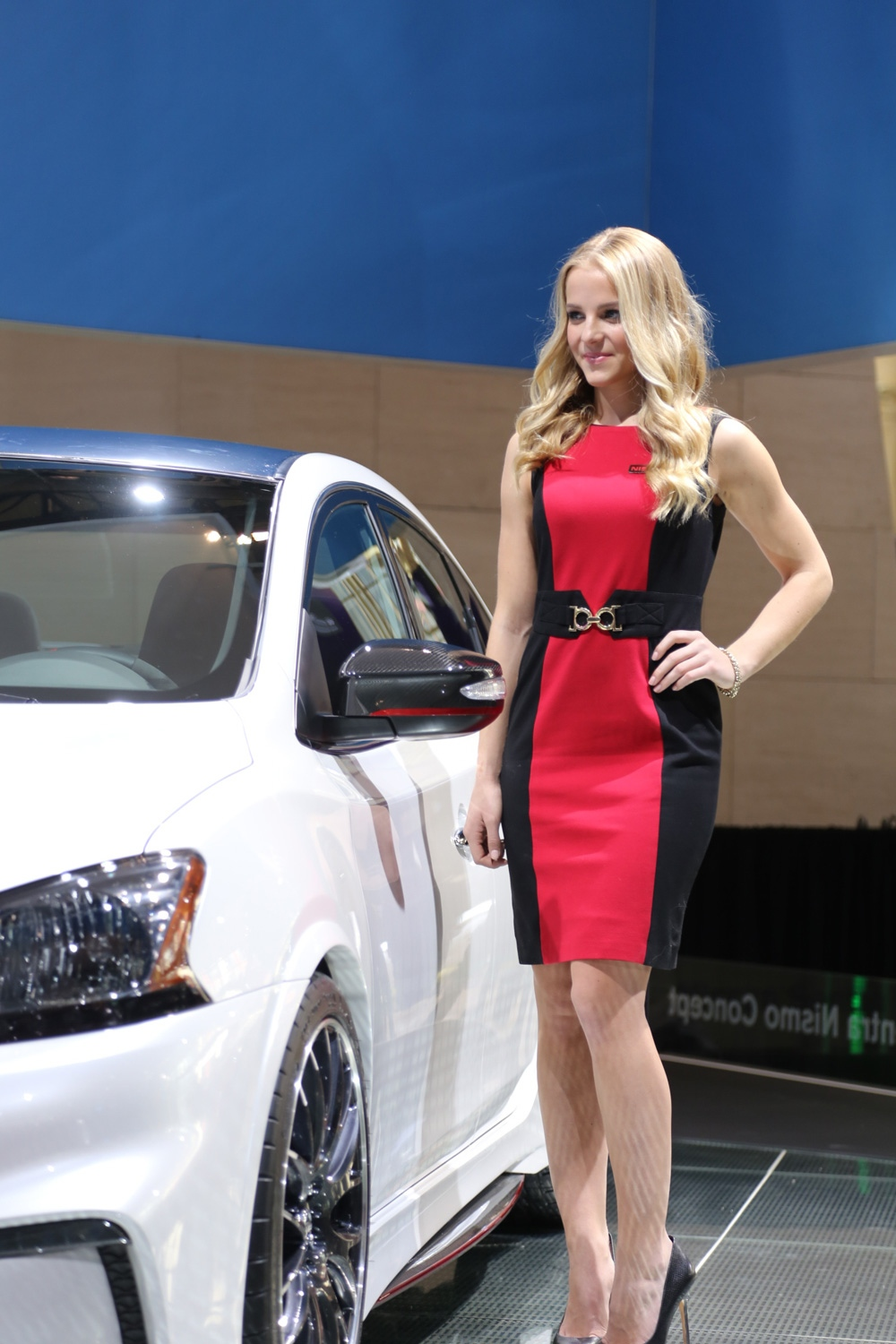 In photos models show off hottest cars at cias ctv news for Pool show toronto 2018