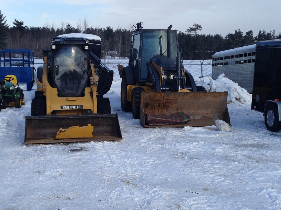 OPP have recovered $375,000 worth of heavy equipment stolen from construction sites. (Mike Walker / CTV Barrie)