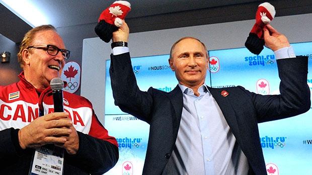 Putin in Canada House