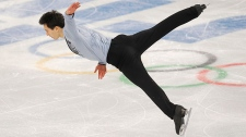 Patrick Chan win silver at Sochi Games