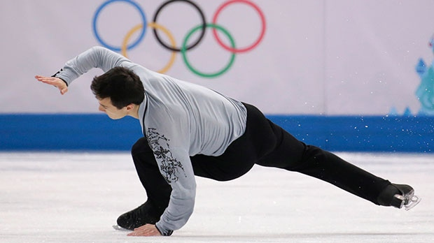 Patrick Chan of Canada competes in the men's free skate figure skating final at the Iceberg Skating Palace during the 2014 Winter Olympics in Sochi, Russia, Friday, Feb. 14, 2014. (AP / Vadim Ghirda)