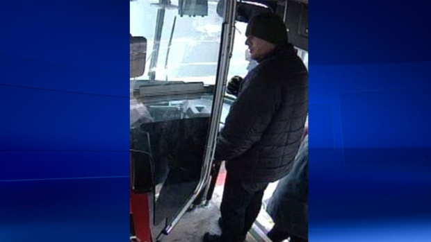 Security cam images after TTC operator assaulted