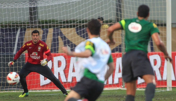 Brazil goalkeeper Julio Cesar Soares