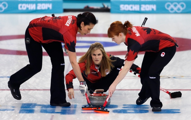 Canada's skip Jennifer Jones