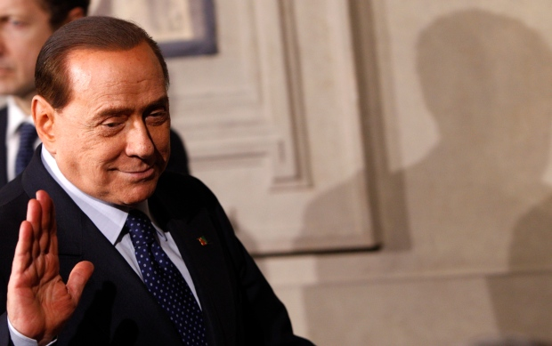 Berlusconi promises responsible opposition