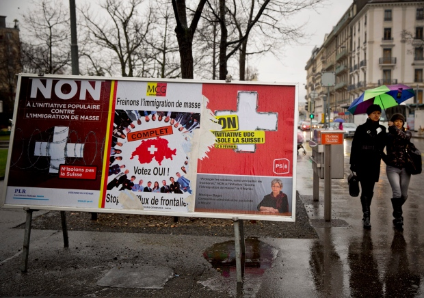 Swiss want action on immigration