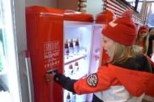 Beer fridge a hit at Olympics