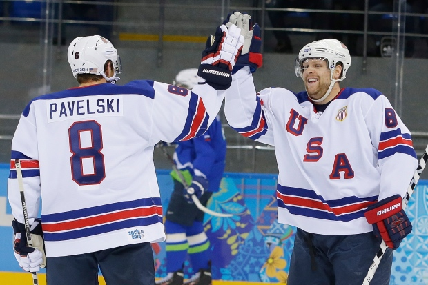 US beats Slovenia in men's hockey