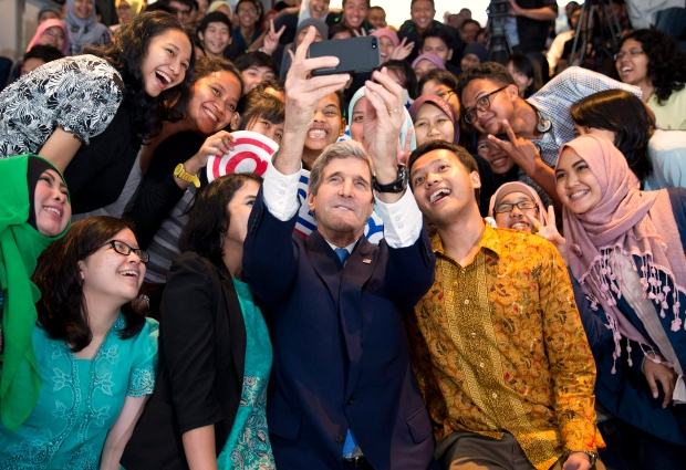 Kerry warns of climate change
