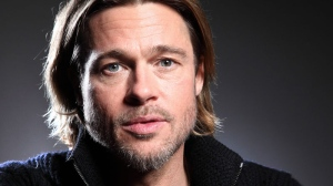 Brad Pitt poses for a portrait during the 36th Toronto International Film Festival on Saturday, Sept. 10, 2011 in Toronto. (AP / Carlo Allegri)