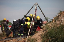 Miners rescued from mine in South Africa