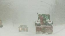 Winter storm blasts Atlantic provinces with snow