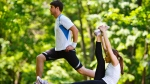 Starting a new exercise regime could also help improve your eating habits, according to new research. (shock/Shutterstock.com)
