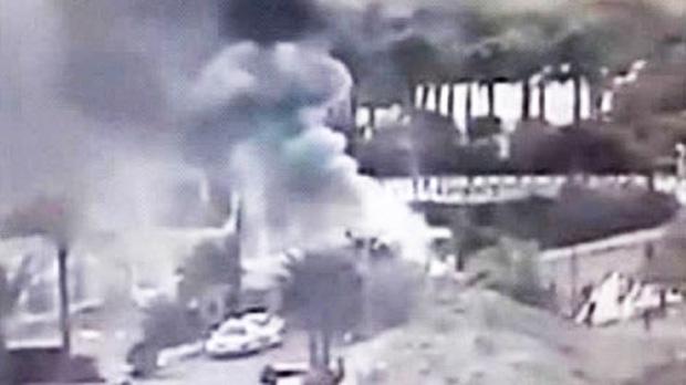 Bomb blast in Egypt