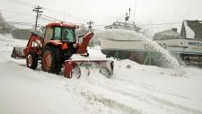 Winter storm blasts Atlantic provinces