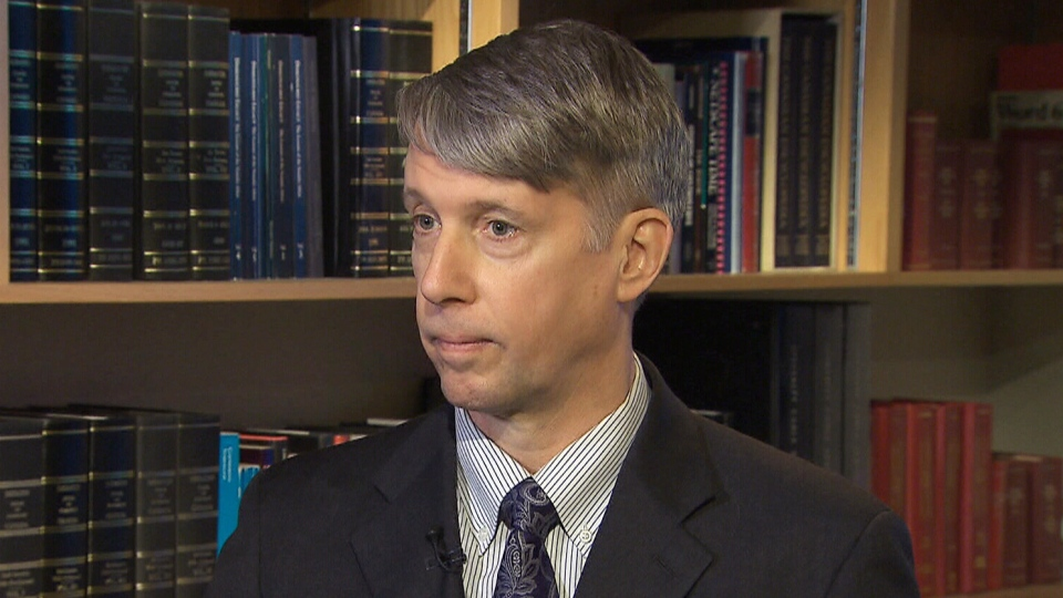 Former general Andrew Leslie appears on CTV News on Sunday, Feb. 16, 2014.