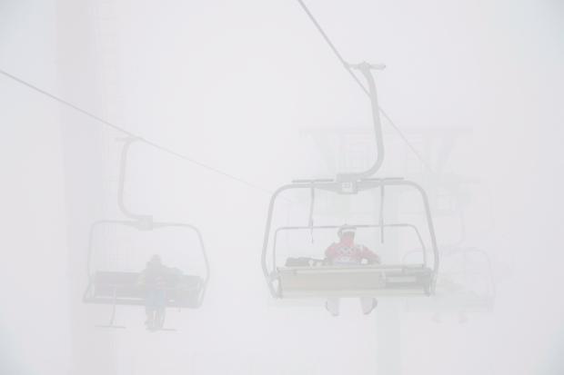 Fog postpones men's Olympic snowboardcross