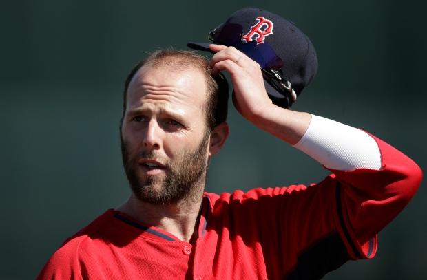 Boston Red Sox second baseman Dustin Pedroi