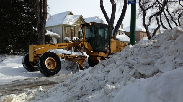Snow clearing continues