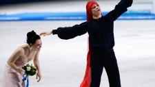 Tessa, Scott win silver in Olympic ice dance