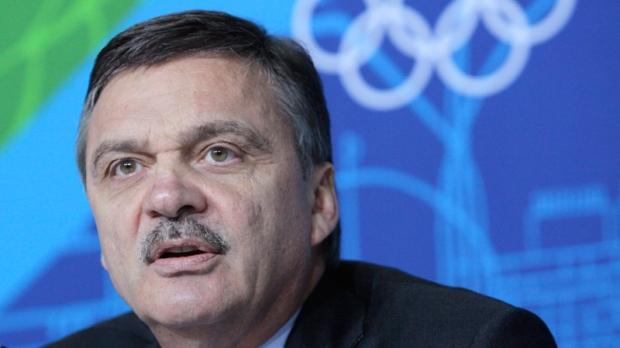 ICHF President Rene Fasel