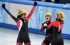 Canada wins silver in speedskating at Sochi