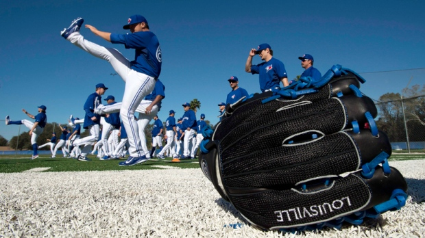 Toronto Blue Jays spring training in Dunedin, Fla.