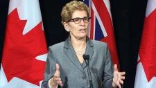 Ontario Premier Kathleen Wynne speaks