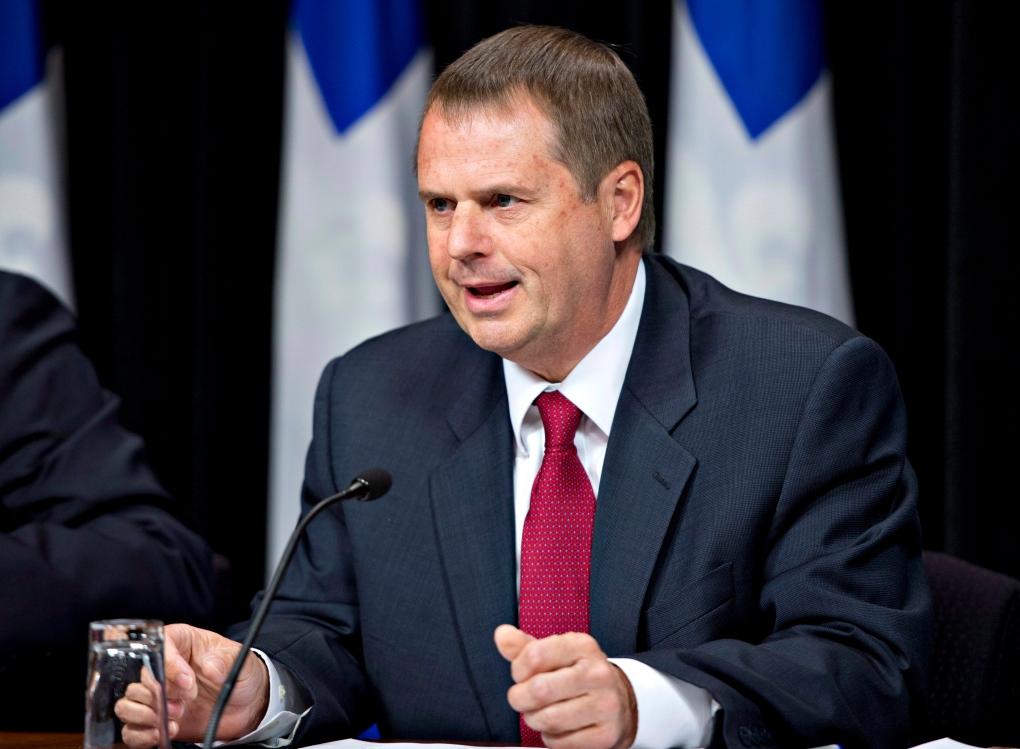 Quebec auditor general Michel Samson