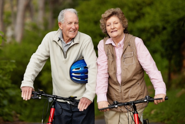 Simple exercise, social contact slow aging