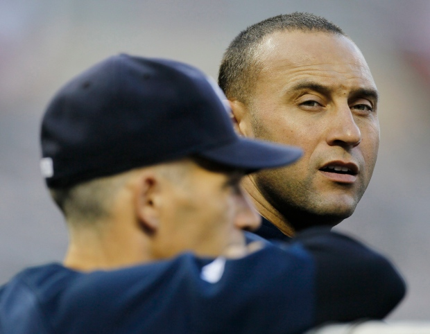 New York Yankees' Derek Jeter,