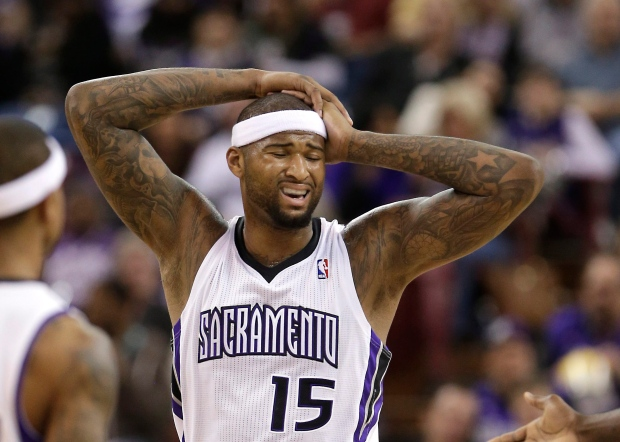Sacramento Kings center DeMarcus Cousins