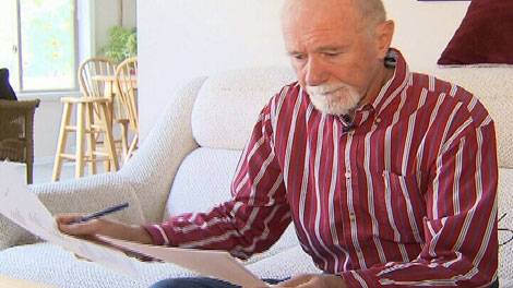 Kelowna resident Maury Williams has been a dual U.S.-Canadian citizen living in Canada for more than three decades. Sept. 17, 2011. (CTV)