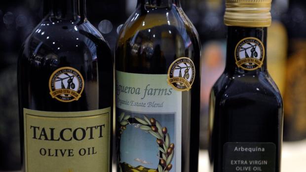 Olive oil industry in U.S.