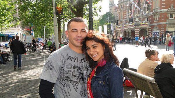 Gatti is seen here with his wife, Amanda Rodrigues in an undated photo. THE CANADIAN PRESS/Handout