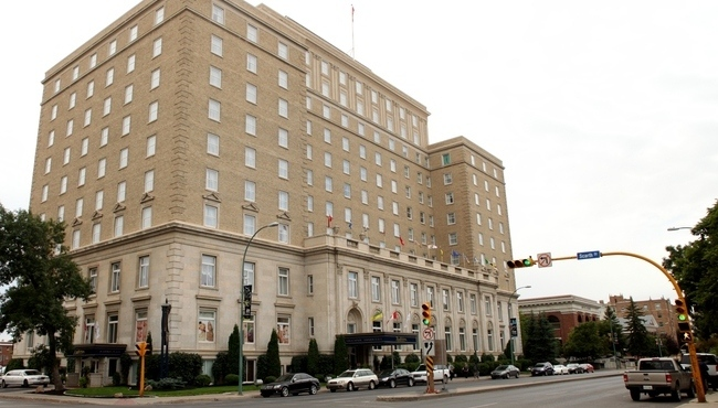 Regina's Hotel Saskatchewan is seen in this image captured from Radisson's website.