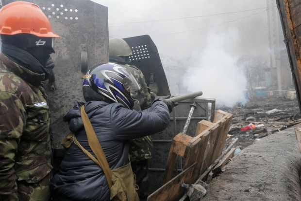 MPs decry Ukraine violence