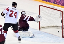 Game winning goal Canada against Latvia