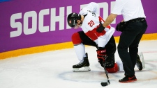 Canada forward John Tavares injured against Latvia