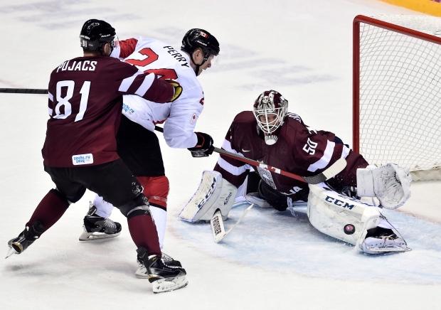 Team Canada beats Latvia