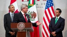 Harper, Obama, Pena Nieto