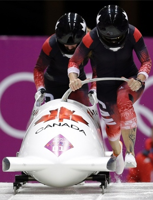 CAN-1's Kaillie Humphries and Heather Moyse